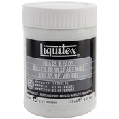 8oz - Liquitex Glass Beads Acrylic Texture Gel