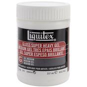 8oz - Liquitex Super Heavy Gloss Acrylic Gel Medium