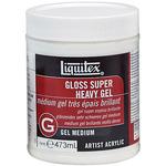 16oz - Liquitex Super Heavy Gloss Acrylic Gel Medium
