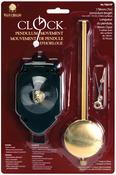 "For 3/4"" Surfaces - Pendulum Clock Movement 7"""