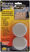 """2.25"""" Round 4/Pkg - Mighty Movers Self-Stick Furniture Sliders"""
