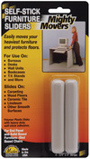 """.75""""X4"""" Strips 4/Pkg - Mighty Movers Self-Stick Furniture Sliders"""