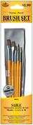 Shader 2,4,6,8,10 - Brush Set Value Pack Sable 5/Pkg
