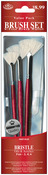 Fan 2,4,6 - Brush Set Value Pack Bristle 3/Pkg