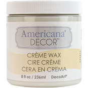 Clear - Americana Decor Creme Wax 4oz