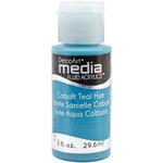 Cobalt Teal - Media Fluid Acrylic 1oz