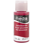 Quinacridone Red (Series 5) - Media Fluid Acrylic 1oz