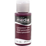 Quinacridone Violet (Series 4) - Media Fluid Acrylic 1oz