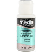 Turquoise (Series 5) - Media Fluid Acrylic 1oz