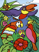 """Birds - My First Paint By Number Kit 8.75""""X11.375"""""""