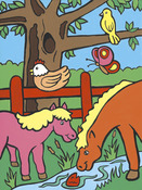 """Farm Animals - My First Paint By Number Kit 8.75""""X11.375"""""""