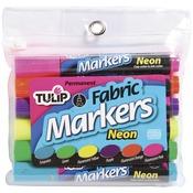 Neon - Tulip Fabric Markers 6/Pkg