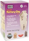 Gray - Moist Pottery Clay 5 Pounds