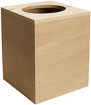 Basswood Boutique Tissue Box