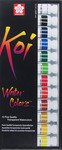 Assorted Colors - Koi Watercolor Paint 12ml 12/Pkg