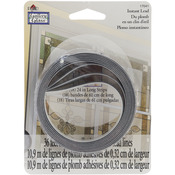 "Black 1/8"" Thick - Gallery Glass Instant Lead Lines 24"" 8/Pkg"