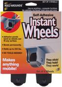 4/Pkg - Self-Adhesive Instant Wheels