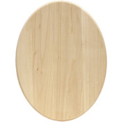 "11""X14"" - Basswood Oval Plaque"