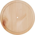 "11"" Round - Use 700P & 800P Movements - Pine Wood Clock Face"