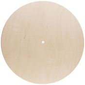 "14"" Gallery Round - Use 500P Movement - Baltic Birch Clock Face"