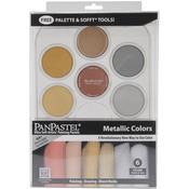 Metallics Kit - Panpastel Ultra Soft Artist Pastels Set 9ml 6/Pkg
