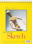 "50lb 100 Sheets - Strathmore Sketch Book 9""X12"""