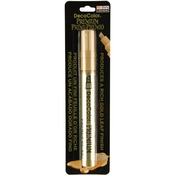 Chisel Tip Gold - DecoColor Premium Oil Based Paint Marker Carded