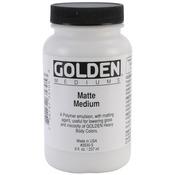 Golden Matte Medium - 8oz