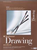 "80lb 24 Sheets - Strathmore Drawing Medium Paper Pad 18""X24"""