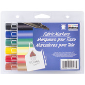 Primary - Fabric Marker Broad Tip 6/Pkg