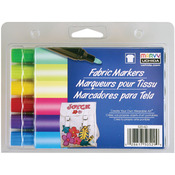 Brilliant - Fabric Marker Broad Tip 6/Pkg