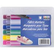 Bright - Fabric Marker Broad Tip 6/Pkg