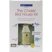 Chalet Bird House - Unfinished Wood Kit