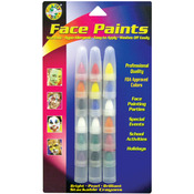Bright/Pearl/Brilliant - Face Paint Stackable Crayons 18/Pkg