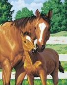 """Mother's Pride - Paint By Number Kit 11""""X14"""""""