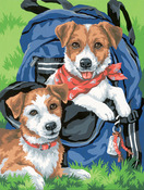 Back Pack Buddies - Paint Works Paint By Number Kit
