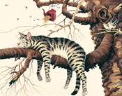 """Too Pooped/Charles Wysocki - Paint By Number Kit 14""""X11"""""""