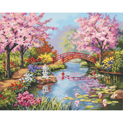 "Japanese Garden - Paint By Number Kit 20""X16"""