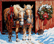 """Ready For The Ride - Paint By Number Kit 20""""X16"""""""
