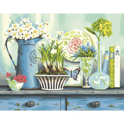 """Vintage Collectibles - Paint By Number Kit 14""""X11"""""""