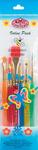 6/Pkg - Big Kid's Choice Deluxe Beginner Brush Set