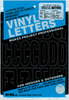 Gothic/Black - Permanent Adhesive Vinyl Letters and Numbers 3""