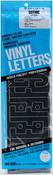 "Gothic/Black - Permanent Adhesive Vinyl Letters 4"""