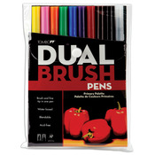 Primary - Tombow Dual Brush Pens 10/Pkg