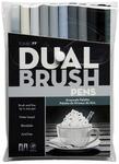 Gray Scale - Tombow Dual Brush Pens 10/Pkg