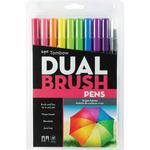 Bright - Tombow Dual Brush Pens 10/Pkg