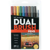 Muted - Tombow Dual Brush Pens 10/Pkg