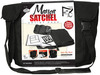 Manga - Satchel Artist Pack ROYAL LANGNICKEL-Magna Satchel Artist Pack. Stay organized and keep your art supplies on hand with this perfectly engineered canvas artist satchel with its specially designed side pocket that stows away your MP3 player or cell phone with a hook & loop closure keeping them at your fingertips. The adjustable wide strap easily converts to give you 2 carry options: over your shoulder or across your chest. Other features are: stylish black canvas and pitch black trim, reinforced padded panels to support heavier items, a main hook & loop closure, two hidden zippered pockets, zipper mesh pocket and 2 pencil holders. Supplies included: an artist pencil wrap, three Essentials micro pens, a soft-grip gel ink pen, a mechanical pencil, an eraser, pencil lead refills, two Magna character templates (comic layout & quote bubbles) and an 8x10in 80 page sketching book. Contents conform to ASTM D4236.  Imported.