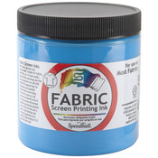 Peacock Blue - Fabric Screen Printing Ink 8oz