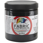 Black - Fabric Screen Printing Ink 8oz